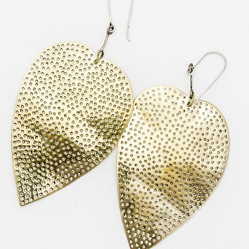 Bodhi Leaf earrings