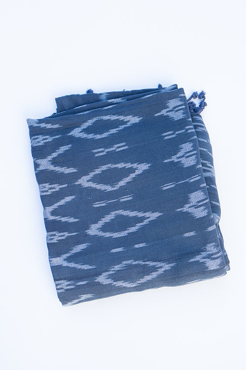 Ikat diamond pattern