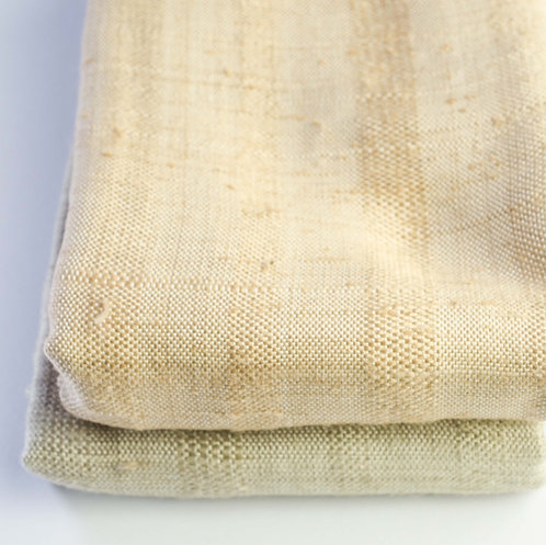 coconut and rice husk winter scarf
