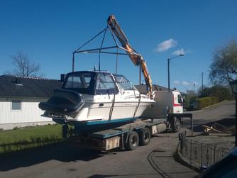 Båten på vannet og SRC eksamen gjennomført