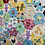 Thumbnail: Hand pieced baby hexagon quilt