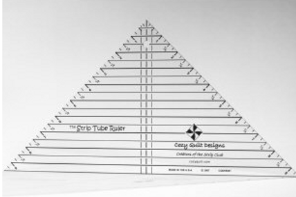 Strip Tube Ruler by Cozy Quilt Design