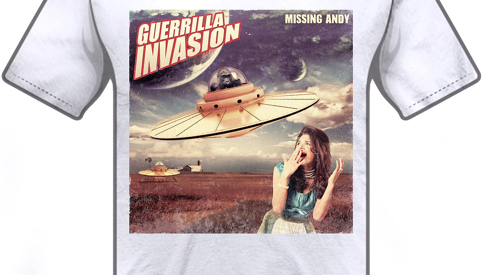 Guerilla Invasion Album Cover T-Shirt