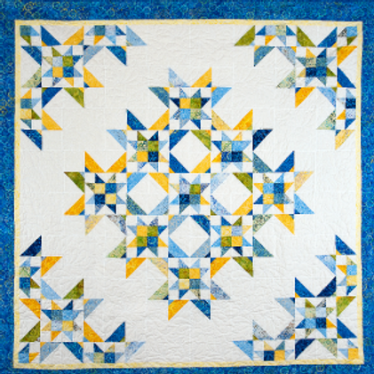 Nine Sisters Pattern by Cozy Quilt Design