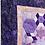 Thumbnail: Purple Hexplosion hand pieced Quilt