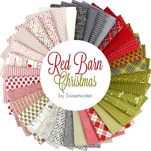 Red Barn Christmas by Sweetwater Layer Cake