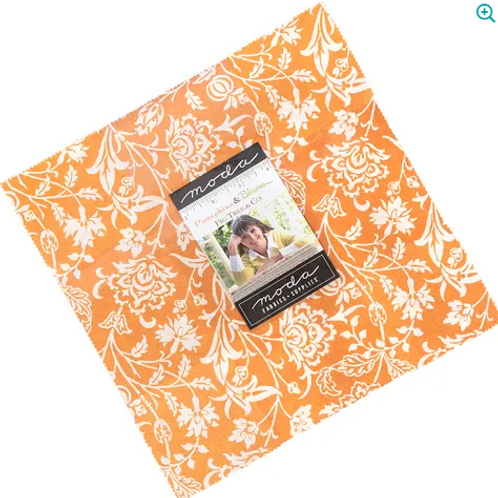 Pumpkin and Blossom Layer Cake by Fig Tree Quits for Moda Fabrics