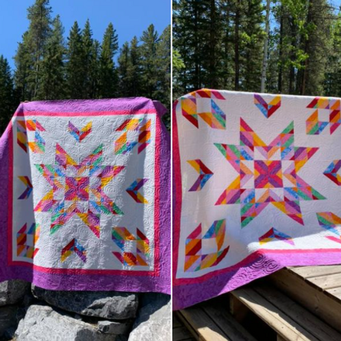 Almost Alone Star Pattern by Cozy Quilt Designs
