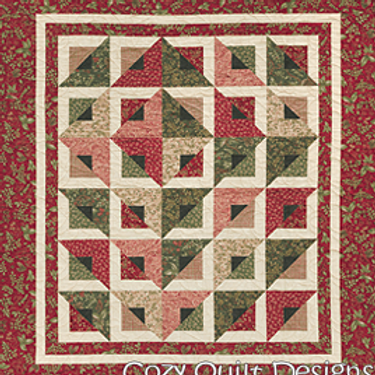 Radiant Pattern by Cozy Quilt Design