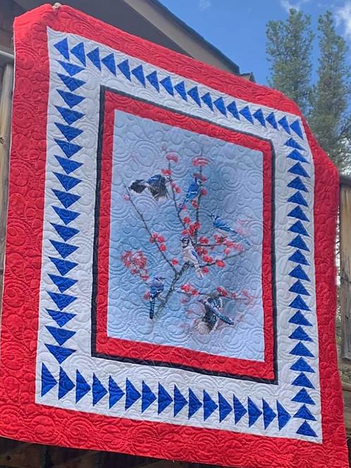 Winter's Wings Quilt Kit