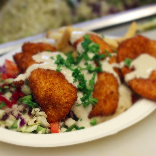 Shnitzel Israeli Salad