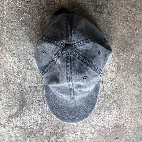 Cap in Washed Charcoal