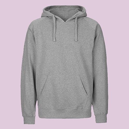 Hoodie in Grau