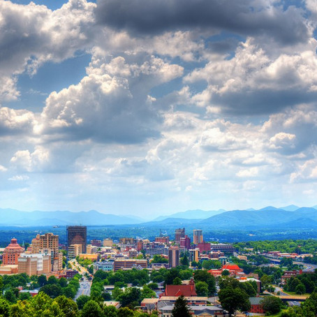 Asheville ranked #8 small city to visit in US by Conde Nast Traveler.