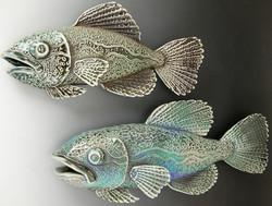 Soda fired fish