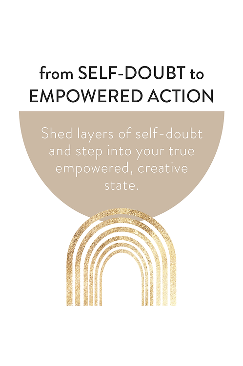 From Self-Doubt to Empowered Action