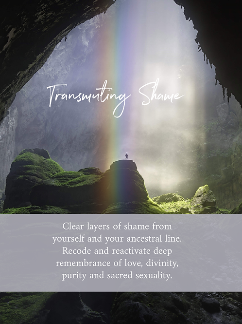 Transmuting Shame
