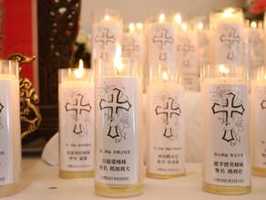 疫情三級警戒高雄教區為新亡者舉行追思彌撒