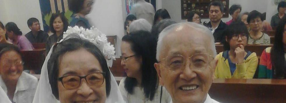 瓊瓔老師與蔡校長