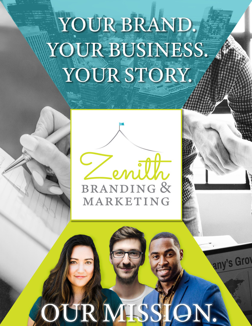 Brochure Cover for Branding & Marketing Company