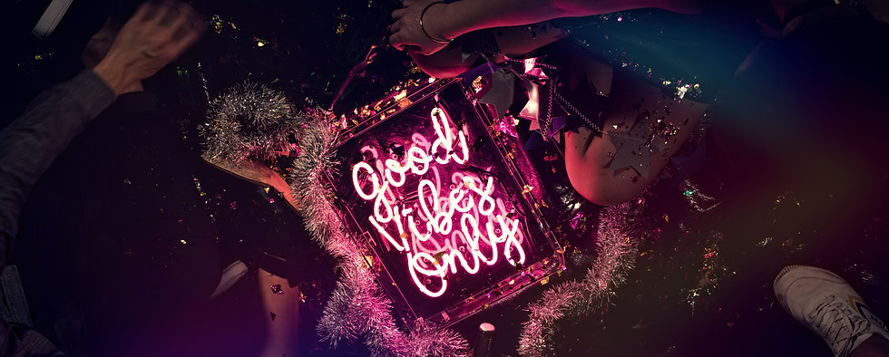 Good Vibes Only Neon Sign By Confetti Dreams