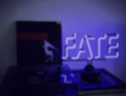 Fate Neon Light From Confetti Dreams Neon Signs