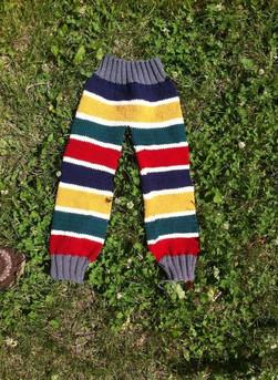 Toddler cotton knit pants