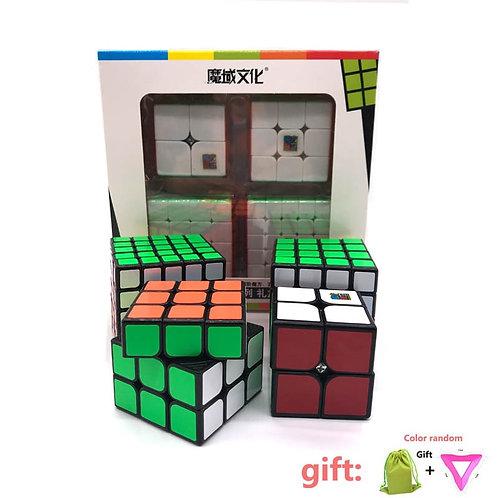 Moyu MofangJiaoshi 2x2 3x3 4x4 5x5 4 piece set