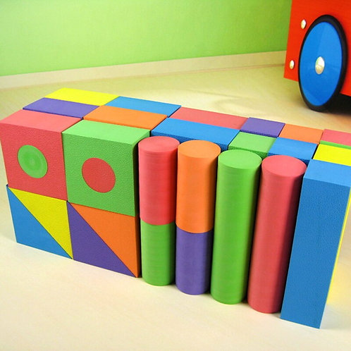 50pcs/Set EVA Safe Building Blocks
