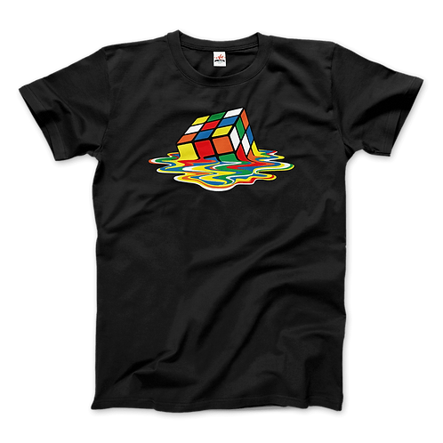Rubick's Cube Melting, Sheldon Cooper's T-Shirt