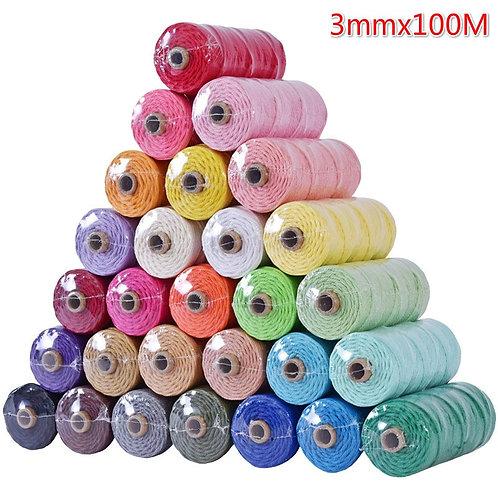 Colored Macrame Cord