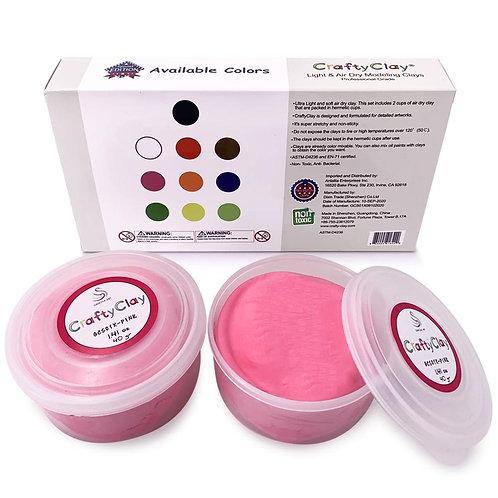 PINK Air Dry Art Clay
