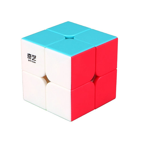QiYi 2x2 Solid Color Stickerless