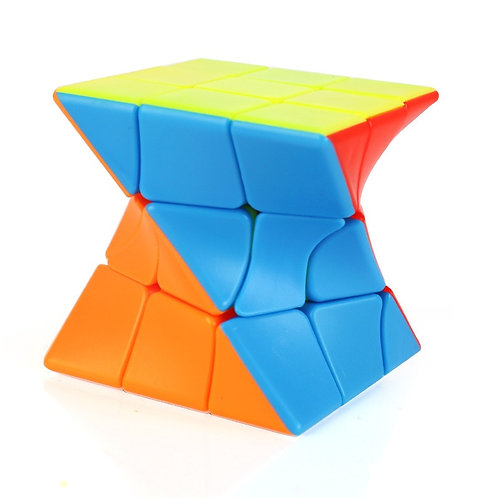 3x3 Twisted Puzzle Cube