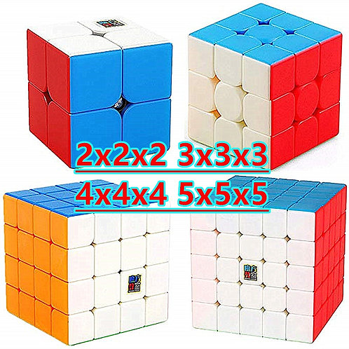 Moyu Meilong 3x3, 4x4, 5x5, 2x2 Mastermorphix