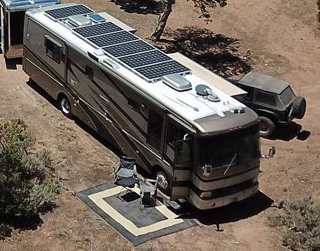 SunVault RV solar panels and solar batteries
