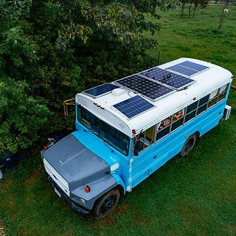 Vehicle solar panels and batteries