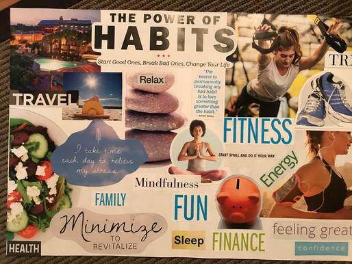 Vision Boards and Goal Setting