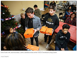 El Paso teens spread holiday cheer with Nike shoes