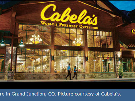 Cabela's grand opening in El Paso scheduled for Sept. 14