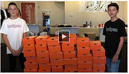 El Paso teen brothers celebrate 3 -year shoe store anniversary by giving back to community