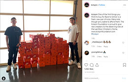 The Kickpin Foundation is proud to give new sneakers to the deserving kids at the Lee Moor Children's Home.