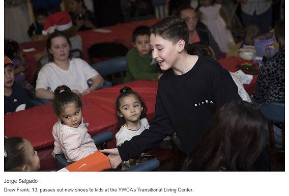 Holiday gifts for homeless women, children