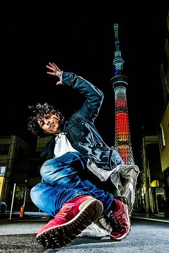 東京 スカイツリー ブレイクダンス ヒップホップ bboy プロフィール アー写 画像 ブレイキン 写真 撮影 カメラマン 写真家 フォトグラファー