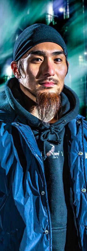 ダンサー ポートレート 肖像 写真 ストリート ダンス 撮影 カメラマン フォトグラファー ロケ ブレイクダンス ストリートダンス ARIYA bboy SHADE 工業団地