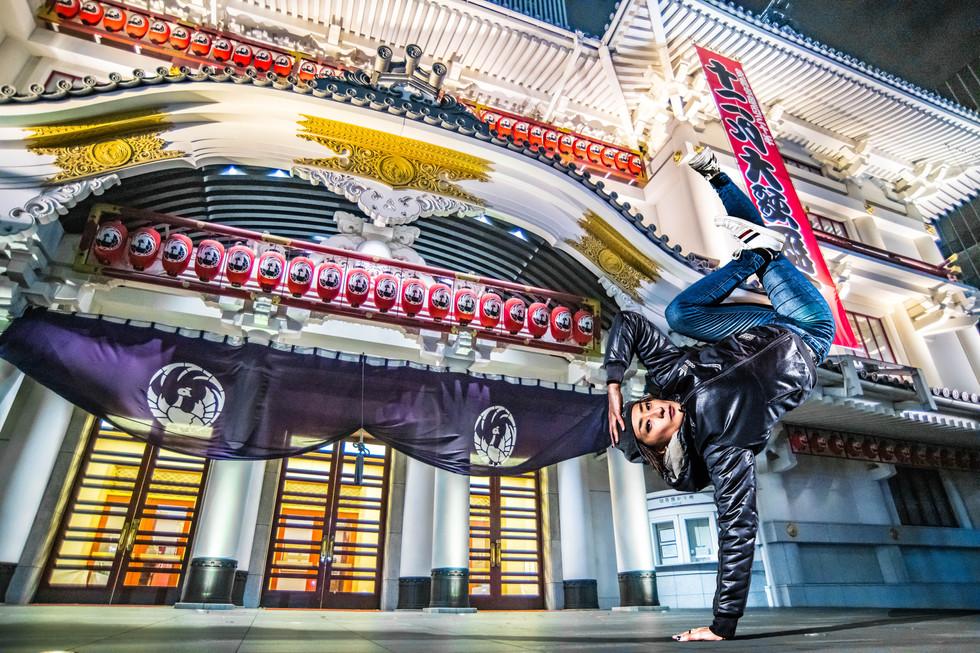 東京 銀座 歌舞伎 出張 撮影 ダンス ヒップホップ ブレイクダンス bboy bgirl プロフィール アー写 宣材 プロフィール 画像 ブレイキン 写真 撮影 プロ カメラマン 写真家 フォトグラファー