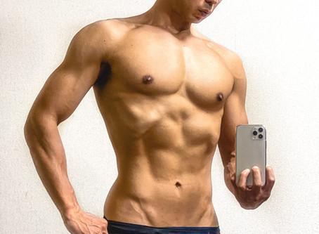体脂肪9%