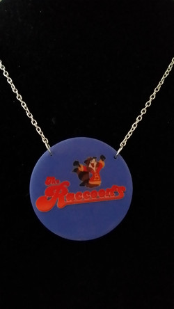 Raccoons TV Necklace