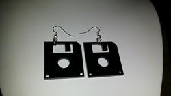 Floppy Disc Earrings
