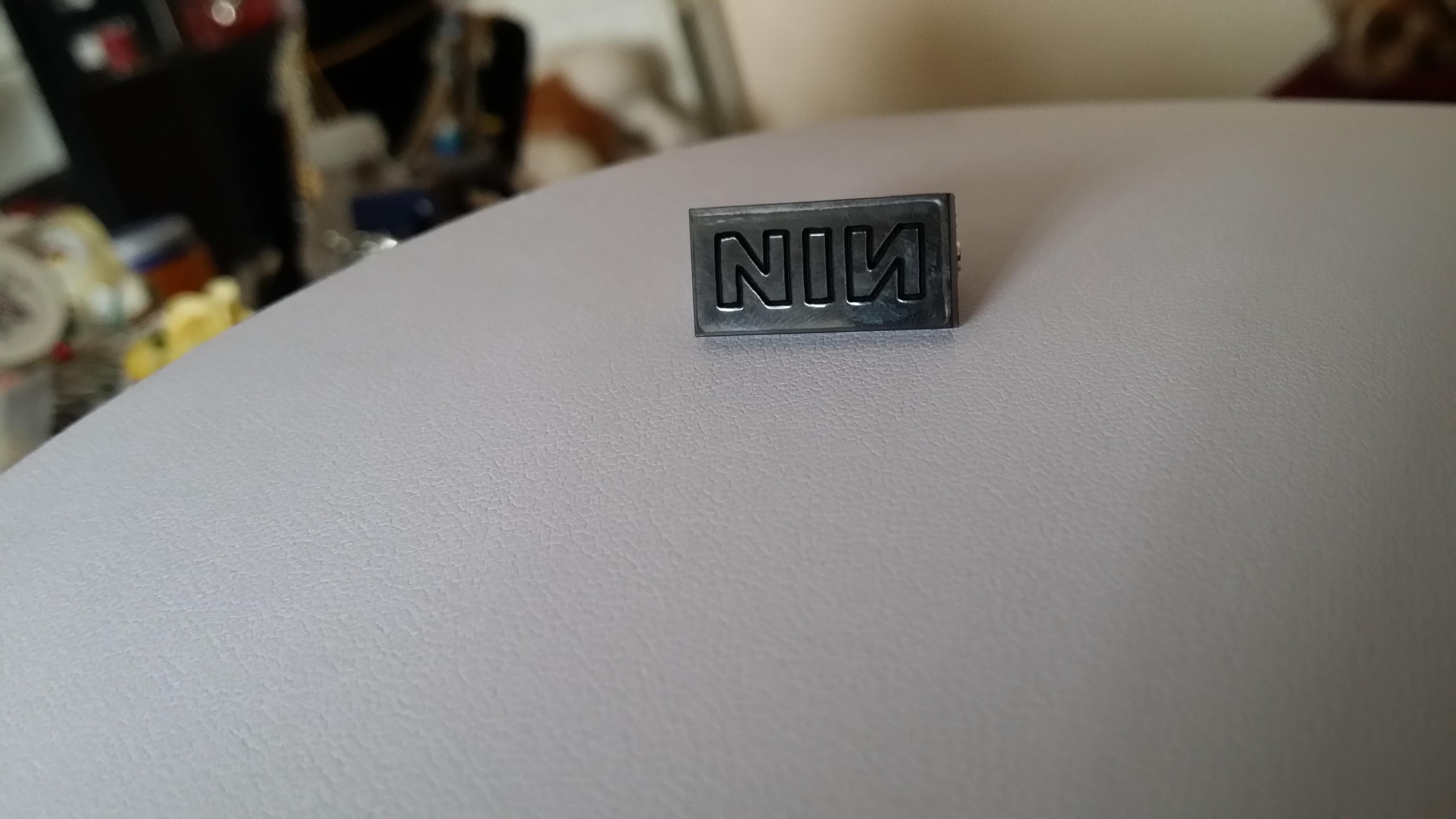 NIN Brooch Pin